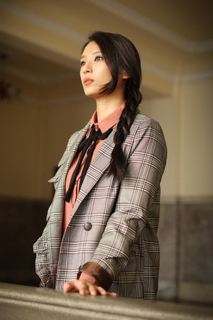 CLASSIC FRILL Check Jacket